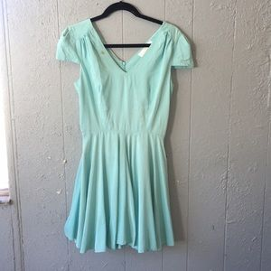 Amanda Uprichard | babyblue SILK Midi Dress Size S